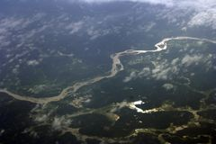 喀拉拉河 免版税库存照片