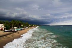 喀拉拉海滩 库存图片
