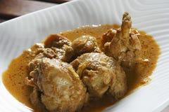 喀拉拉特别鸡咖喱 免版税库存图片
