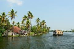 喀拉拉状态在印度 免版税库存图片