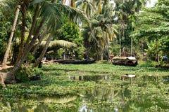 喀拉拉状态在印度 库存图片
