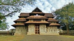 喀拉拉的印度寺庙 免版税库存照片