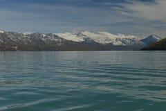 喀纳斯湖在新疆中国 库存照片