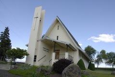 喀麦隆伊曼纽尔luthern教会 库存照片