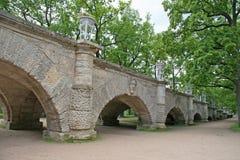 喀麦隆画廊洞穴在ST的凯瑟琳公园 彼得斯堡, TSARSKOYE SELO,俄罗斯 免版税库存照片