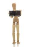喂人体模型陈列 免版税库存照片
