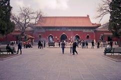 喇嘛寺庙北京(淡色) 免版税库存照片