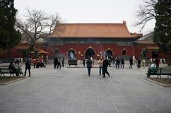喇嘛寺庙北京 免版税库存照片