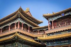 喇嘛寺庙,北京 库存图片