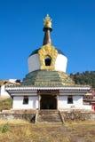 喇嘛寺院塔 免版税库存图片