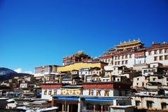 喇嘛寺院songzanlin 图库摄影