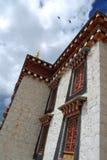 喇嘛寺院songzanlin 免版税库存图片