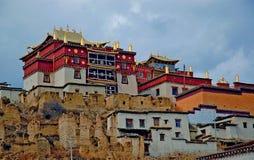 喇嘛寺院songzanlin 库存照片
