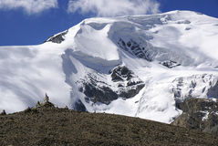 喜马拉雅冰川 图库摄影