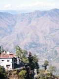 喜马拉雅地形 免版税库存图片