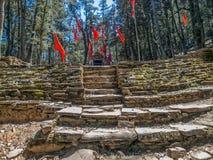 喜马拉雅小的寺庙 免版税库存图片