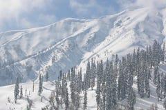 喜马拉雅山冬天 库存照片