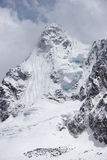 喜马拉雅山冰尼泊尔山顶 免版税图库摄影