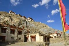 喜马拉雅山印第安ladakh lamayuru修道院 免版税图库摄影