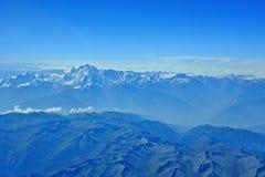 喜马拉雅山和k2 免版税库存照片