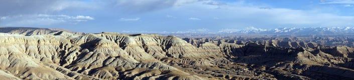 喜马拉雅山在西藏 库存照片