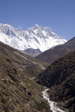 喜马拉雅山尼泊尔 免版税库存照片