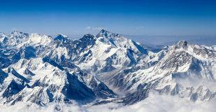 喜马拉雅山山风景 库存图片