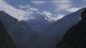 喜马拉雅山山,尼泊尔 安纳布尔纳峰峰顶  Timelapse 影视素材