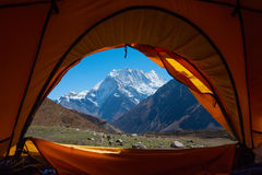喜马拉雅山山 图库摄影