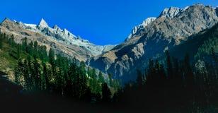 喜马拉雅山的峰顶 免版税库存图片