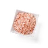 从喜马拉雅山的特别桃红色盐 免版税图库摄影