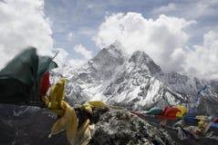喜马拉雅山脉 库存图片