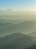 喜马拉雅山范围,尼泊尔 免版税库存照片