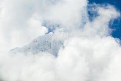 喜马拉雅山风景,登上阿马Dablam 库存图片
