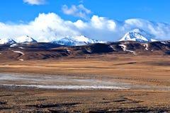 喜马拉雅山风景 库存照片