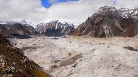 喜马拉雅山,珠穆琅玛地区 库存照片