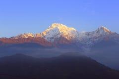 喜马拉雅山 尼泊尔 免版税库存图片