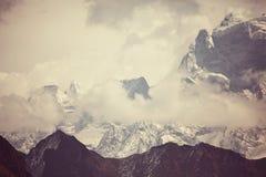 喜马拉雅山 库存图片