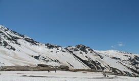 喜马拉雅山- ROHTANG 图库摄影