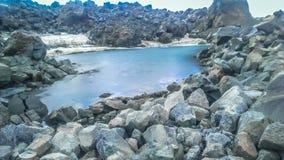 喜马拉雅山ladakh湖山省 免版税库存照片