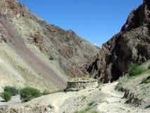 喜马拉雅山ladakh 库存照片