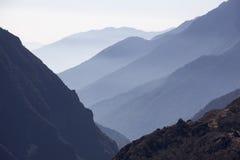 喜马拉雅日出 免版税库存照片