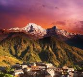 喜马拉雅的幻想 免版税库存照片