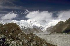 喜马拉雅的高地 库存照片