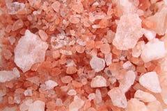 喜马拉雅盐纹理 库存照片