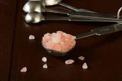 喜马拉雅盐 免版税库存图片
