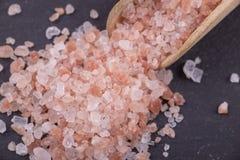 喜马拉雅红色盐 库存照片
