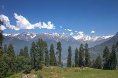喜马拉雅风景 库存照片