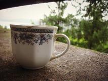 喝与我的一些咖啡 免版税库存图片