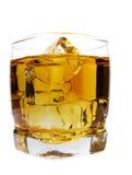 喝威士忌酒 免版税库存照片